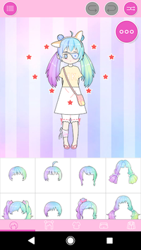 Pastel Avatar Maker: Make Your Own Pastel Avatar pc screenshot 1