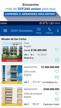 FincaRaiz - real estate pc screenshot 1