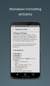 Writer Plus (Write On the Go) pc screenshot 2