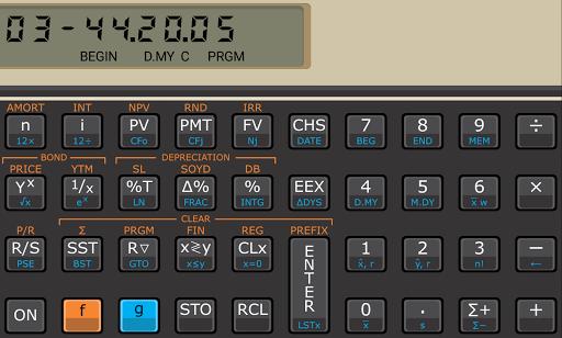 Touch Fin Calculator (free) pc screenshot 1
