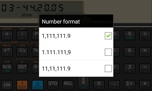 Touch Fin Calculator (free) pc screenshot 2