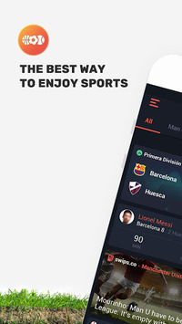 SWIPS - Sports Live Scores pc screenshot 1