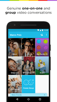 Marco Polo - Video Chat for Busy People pc screenshot 1