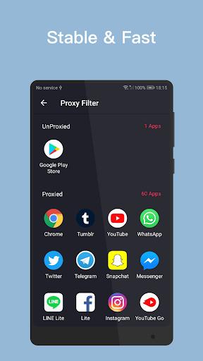 VPN Inf - Unlimited Free VPN & Fast Security VPN pc screenshot 1