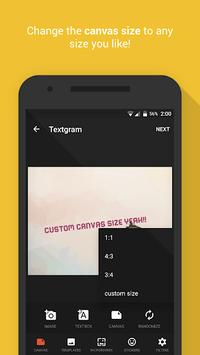 Textgram - write on photos pc screenshot 2