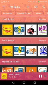 FM Radio - Live Indian Stations pc screenshot 1