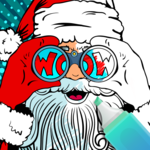 2018  Christmas Coloring Book icon