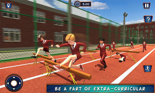High School Girl Simulator: Virtual Life Game 3D pc screenshot 1