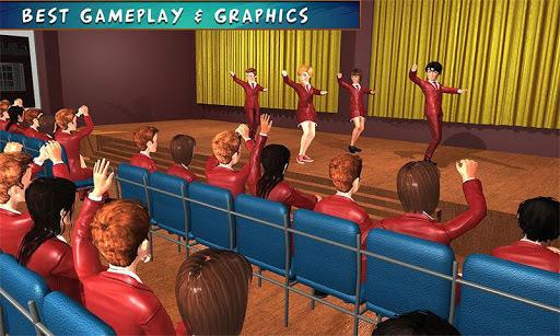 High School Girl Simulator: Virtual Life Game 3D pc screenshot 1