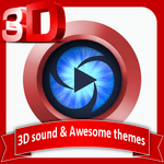 Mp3 Player 3D Android icon
