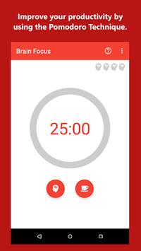 Brain Focus Productivity Timer pc screenshot 1