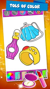 Beauty Coloring Book Fashion Drawing Game pc screenshot 2
