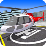 City Helicopter Fly Simulation icon
