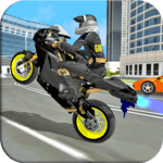 Motorbike Stunt Super Hero Simulator icon