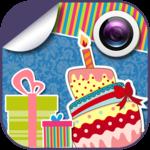 Birthday Emoticons Cam Effects icon