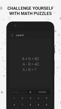 Math | Riddles and Puzzles Math Game pc screenshot 1