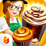 Cafe Panic: Cooking Restaurant for pc logo