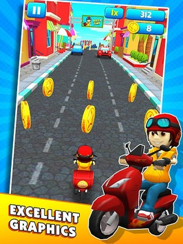 Subway Scooters Free -Run Race pc screenshot 2