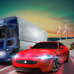 City Racing Traffic Racer for pc logo