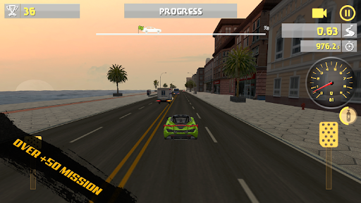 City Racing Traffic Racer pc screenshot 1
