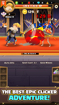 Clicker Knight: Incremental Idle RPG pc screenshot 1