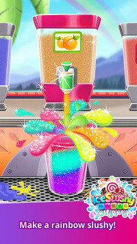 Ice Slushy Maker: Rainbow Desserts pc screenshot 2