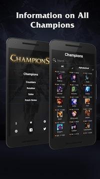 Champions of League of Legends pc screenshot 1
