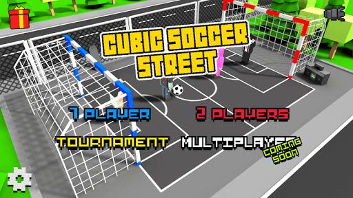 Cubic Street Soccer 3D pc screenshot 1