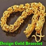Design Gold Bracelet icon