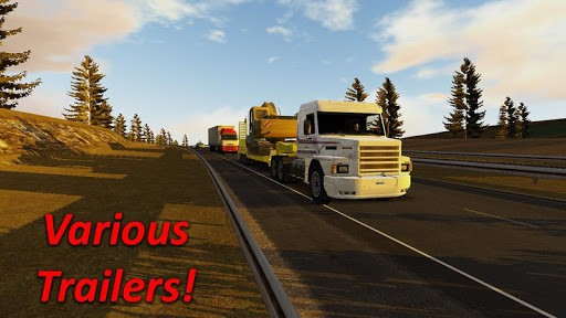 Heavy Truck Simulator pc screenshot 1