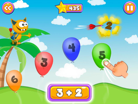 Math Games for Kids: Addition and Subtraction pc screenshot 1