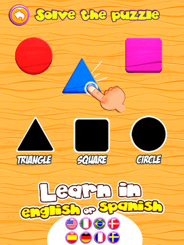 Preschool learning games for kids: shapes & colors pc screenshot 1