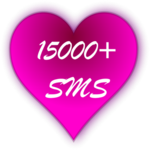 ♥ 15000+ Love SMS Messages ♥ icon