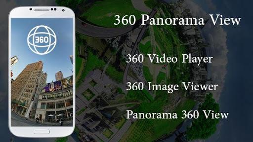360 video player view Panorama 360 degree pc screenshot 1