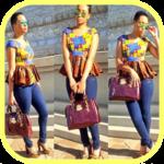 African fashion style - Ankara style for women icon