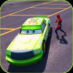 Superhero Ultimate Cars Highway lightning Racing icon