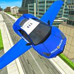 Police Flying Cars Futuristic Sim 3D icon