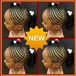 braids hairstyles for Women & Child icon