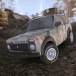 Forest Roads. Niva icon