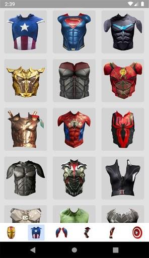 Superhero Camera Photo Editor pc screenshot 1