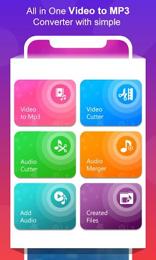Video to MP3 Converter - MP3 Audio Merger PC screenshot 1