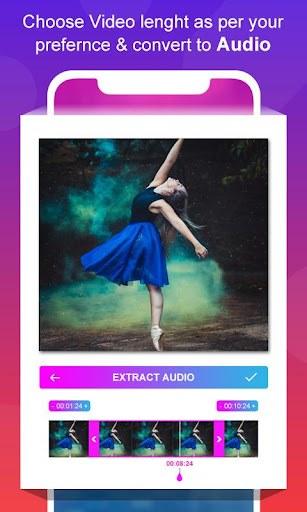 Video to MP3 Converter - MP3 Audio Merger PC screenshot 2