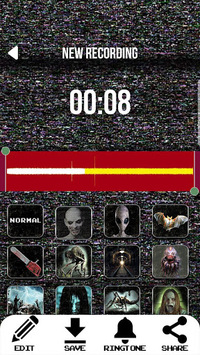 Scary Voice Changer – Horror Sound Effects pc screenshot 1