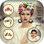 Flower Crown For Girl Editor icon