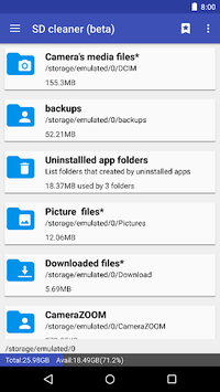 1Tap Cleaner (clear cache, history and call log) pc screenshot 1