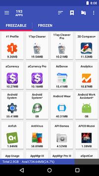 AppMgr III (App 2 SD, Hide and Freeze apps) pc screenshot 1