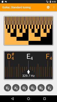 Guitar and Violin Tuner pc screenshot 1