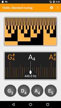 Guitar and Violin Tuner pc screenshot 2