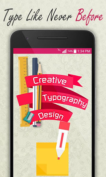 Creative Typography Design pc screenshot 1