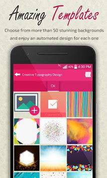 Creative Typography Design pc screenshot 2